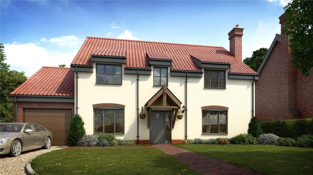 4 Bedrooms Detached House for sale in Plot 7, All Saints Meadow, Church Road, Wreningham, Norwich, NR16