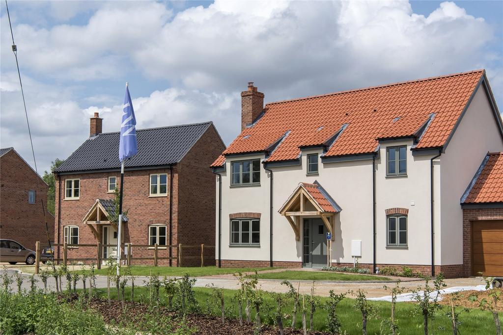 4 Bedrooms Detached House for sale in Plot 4, All Saints Meadow, Church Road, Wreningham, Norwich, NR16