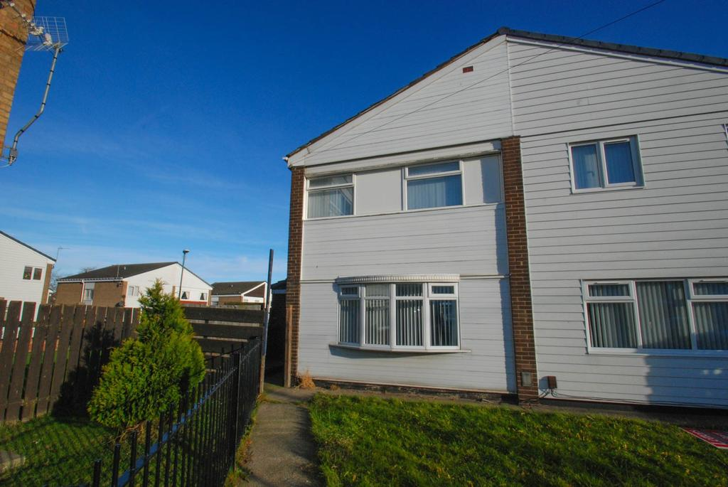 3 Bedrooms Semi Detached House for sale in Bramham Court, South Shields