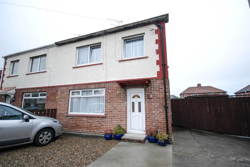3 Bedrooms Semi Detached House for sale in Barnard Grove, Jarrow