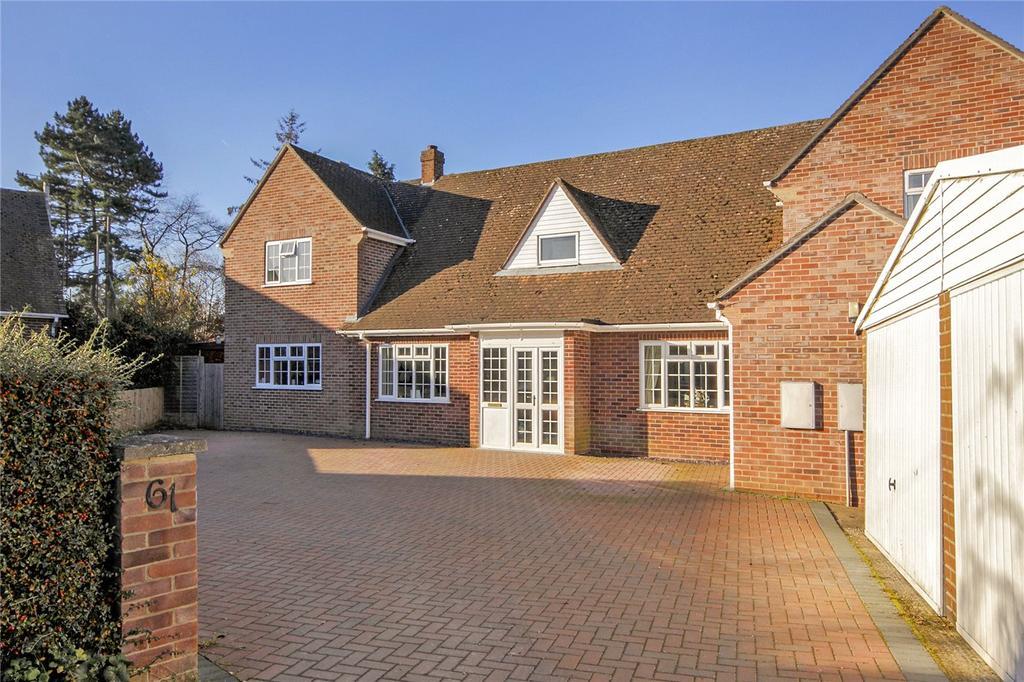 4 Bedrooms Detached House for sale in Chandos Road, Newbury, Berkshire, RG14