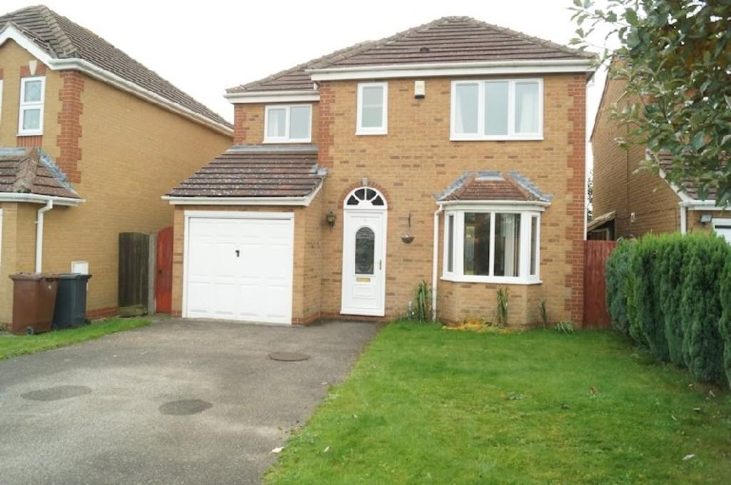 4 Bedrooms Detached House for sale in Orchid Road, Lincoln