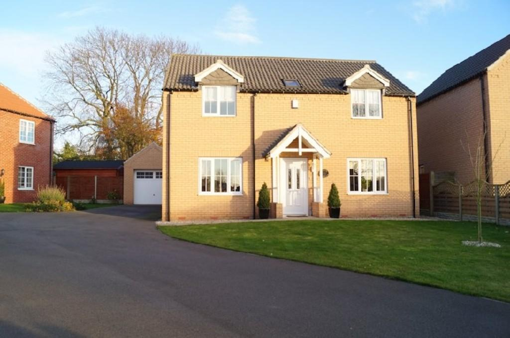 4 Bedrooms Detached House for sale in Millstone Way, Waddingham