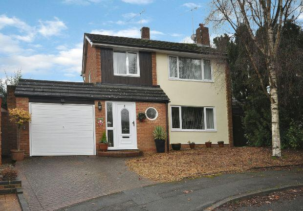 3 Bedrooms Detached House for sale in Bosworth Gardens, Woodley, Reading,