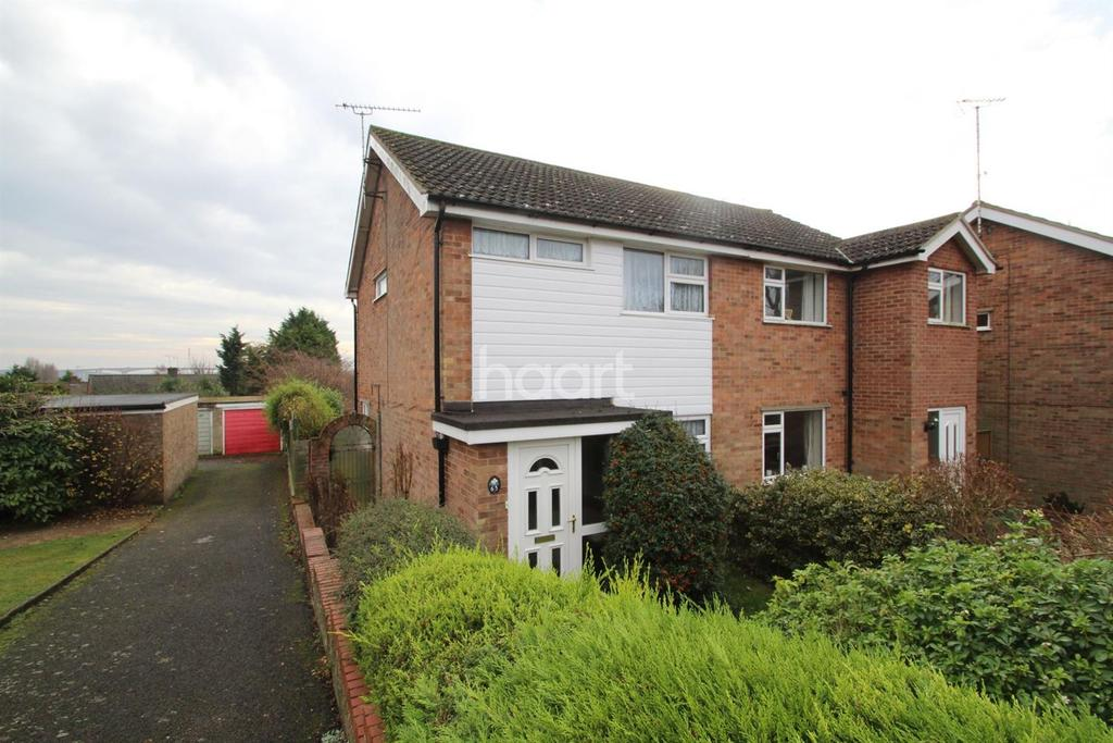 3 Bedrooms Semi Detached House for sale in Chatworth Crescent, IPSWICH, IP2 9BY