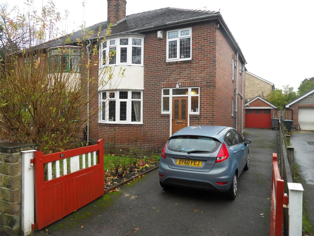 3 Bedrooms Semi Detached House for sale in Track Road, Batley, West Yorkshire, WF17