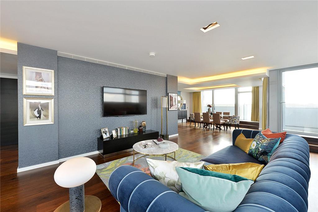 3 Bedrooms Flat for sale in Pan Peninsula Square, London