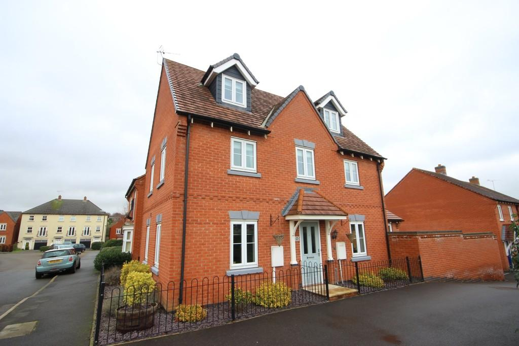 5 Bedrooms Detached House for sale in Moray Close, Swadlincote