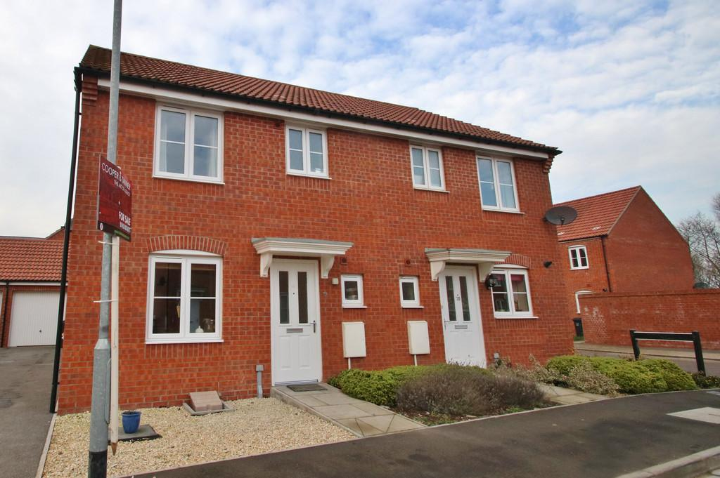 3 Bedrooms Semi Detached House for sale in Sharpham Road, Glastonbury