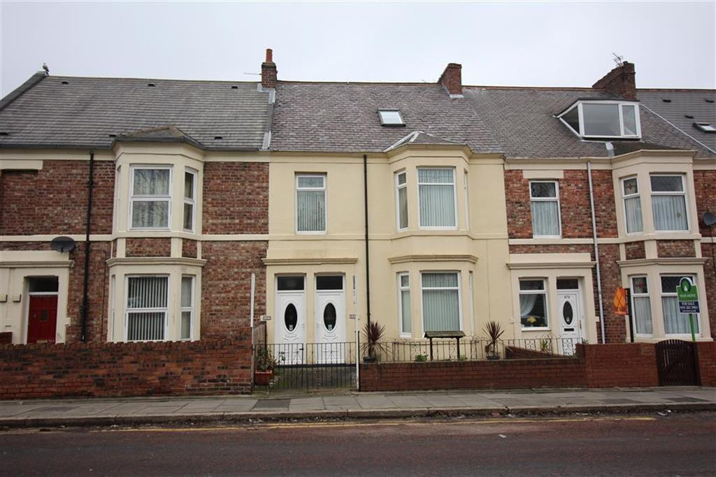 4 Bedrooms Maisonette Flat for sale in Welbeck Road, Newcastle Upon Tyne, NE6