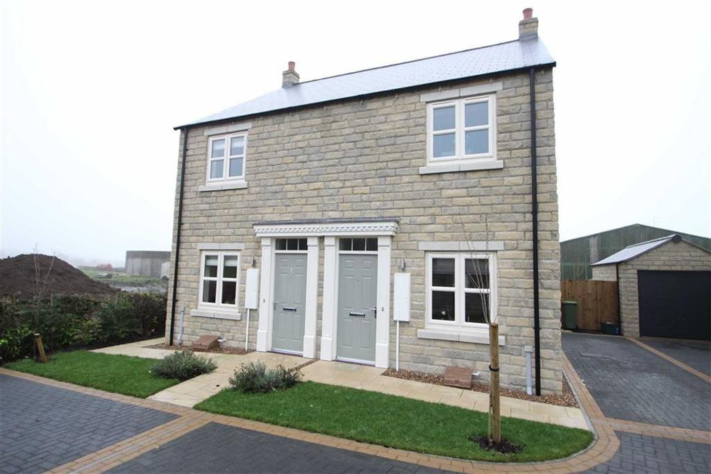 2 Bedrooms Semi Detached House for sale in Coverdale Close, Leyburn