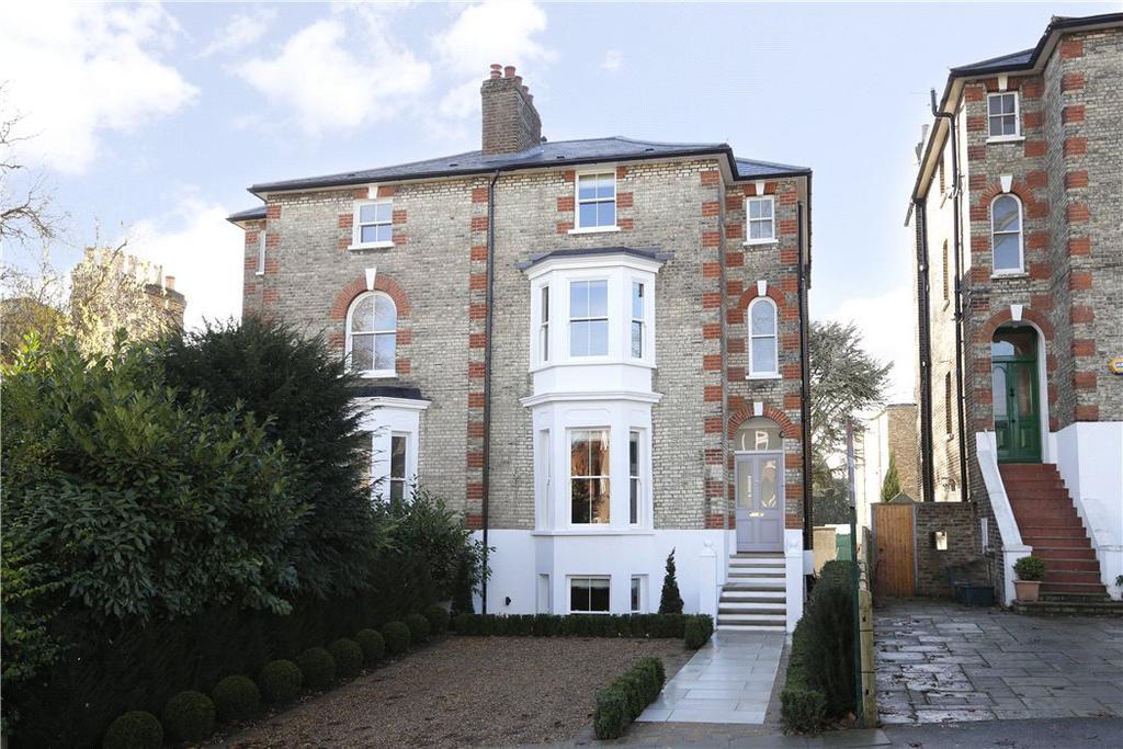 5 Bedrooms Semi Detached House for sale in Denmark Avenue, Wimbledon Village, London, SW19