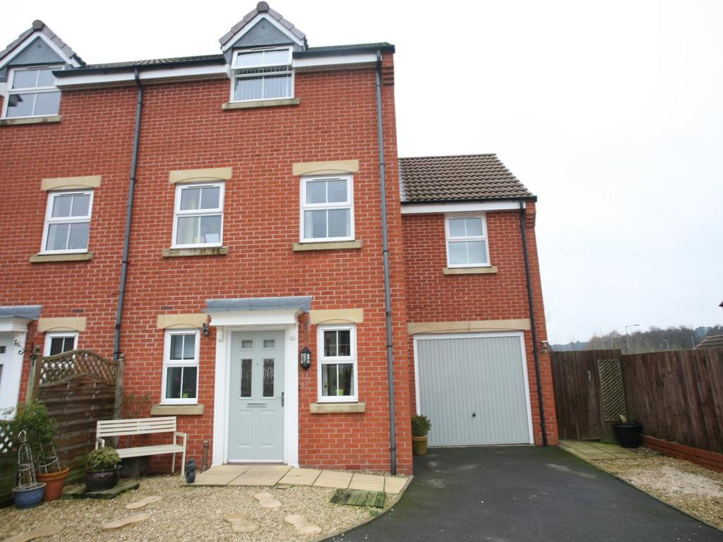 4 Bedrooms Semi Detached House for sale in 14 King Cup Drive, Huntington, WS12 4WB