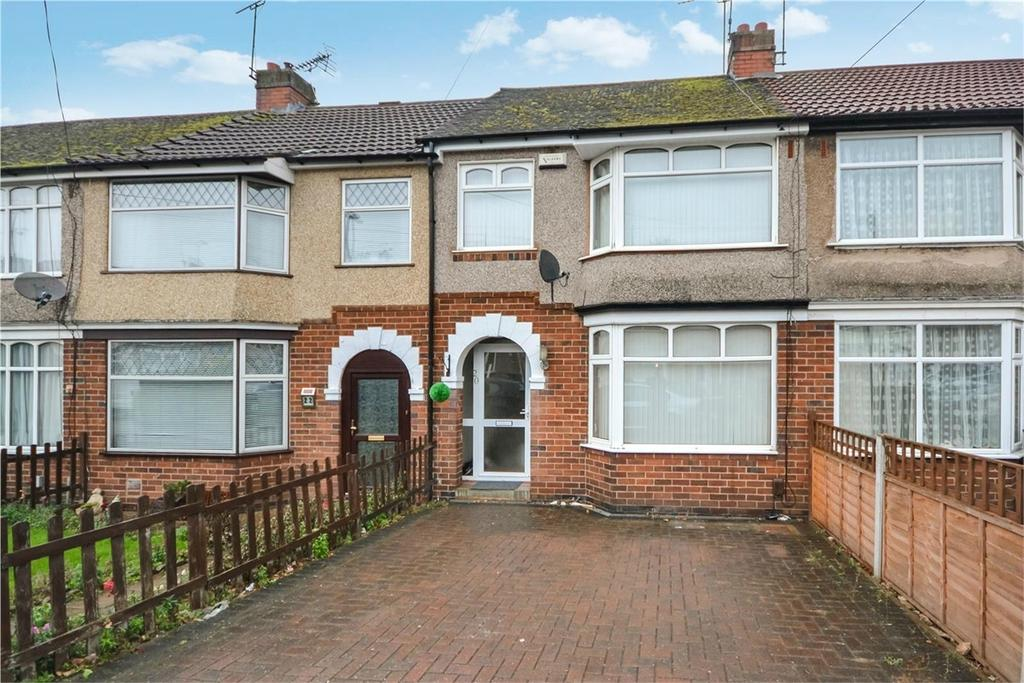 3 Bedrooms Terraced House for sale in Dartmouth Road, Wyken, COVENTRY, West Midlands
