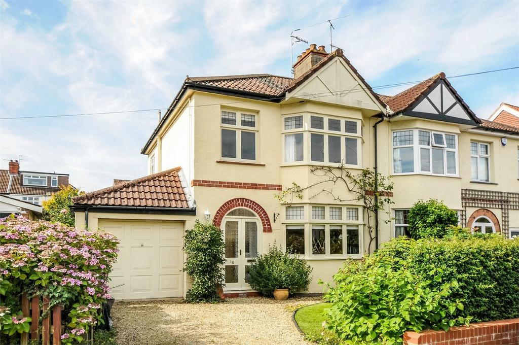 3 Bedrooms Semi Detached House for sale in Lyndhurst Road, Westbury-on-Trym, Bristol