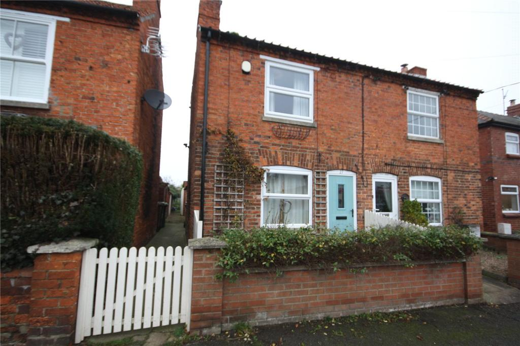2 Bedrooms Semi Detached House for sale in Chapel Lane, Leasingham, Sleaford, Lincolnshire, NG34
