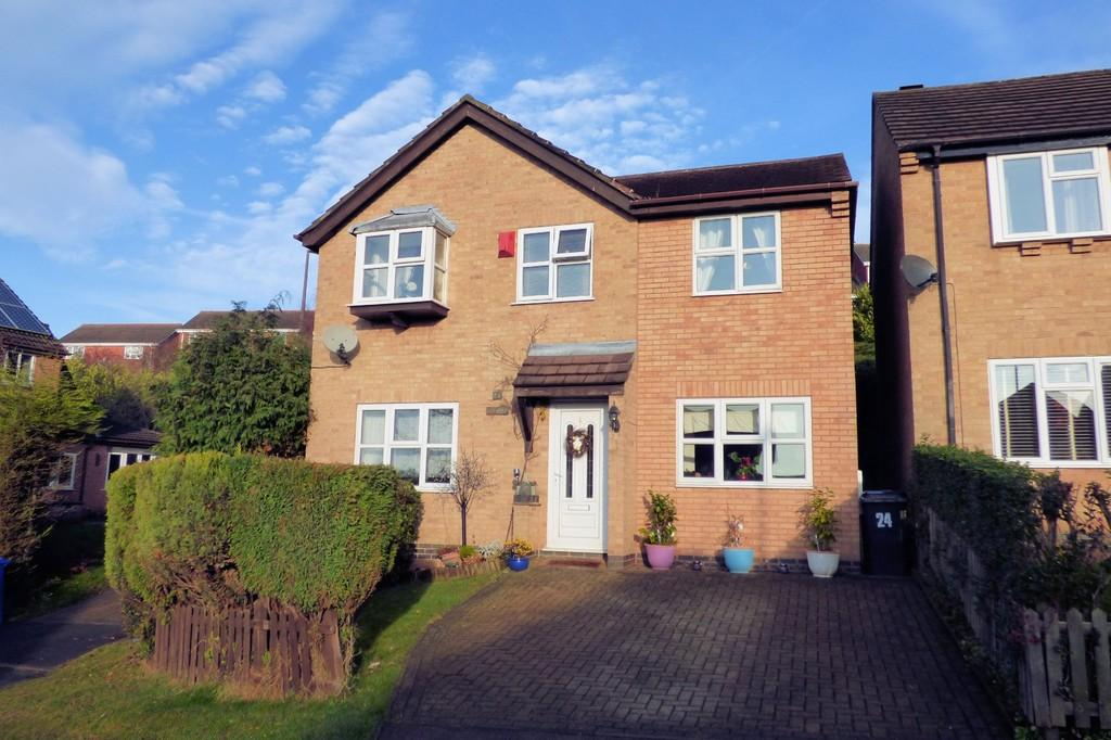 4 Bedrooms Detached House for sale in Grasmere Close, Stapenhill