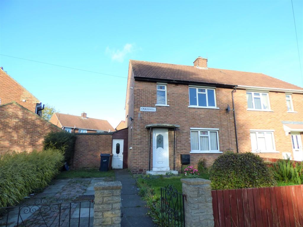 2 Bedrooms Semi Detached House for sale in Craighill, Shiney Row, Houghton-Le-Spring