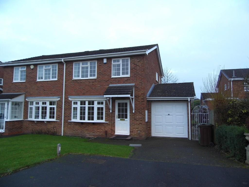 3 Bedrooms Semi Detached House for sale in Brailes Close, Solihull