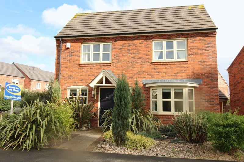 4 Bedrooms Detached House for sale in Diamond Way, Ellesmere, Shropshire, SY12 0FH