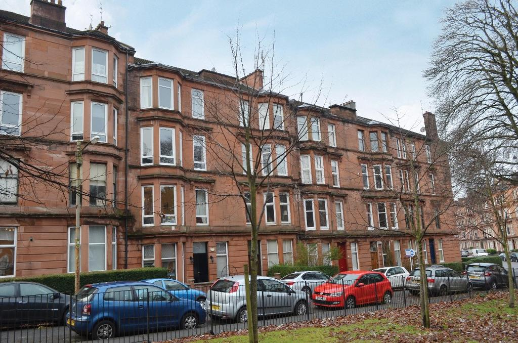 2 Bedrooms Flat for sale in Waverley Gardens, Flat 2/2, Shawlands, Glasgow, G41 2ED