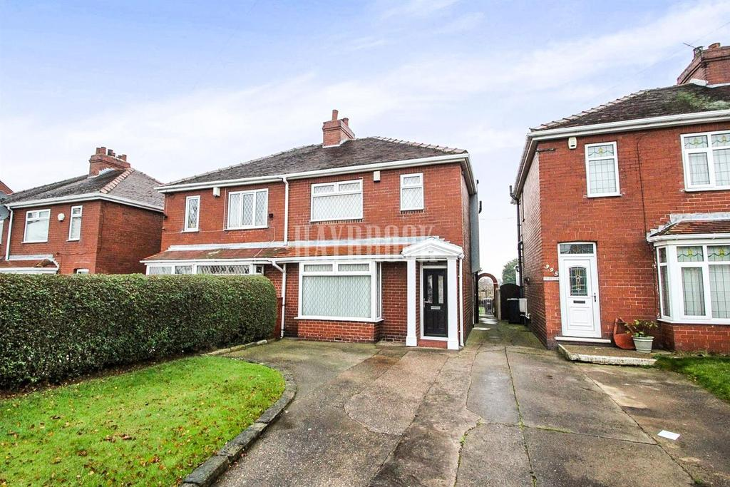 3 Bedrooms Semi Detached House for sale in Rotherham Road, Smithies