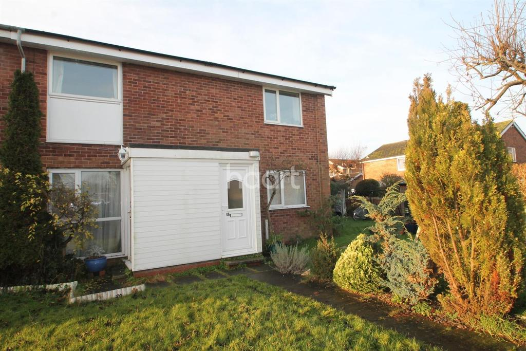 1 Bedroom Flat for sale in Hawthorne Crescent, Farndon