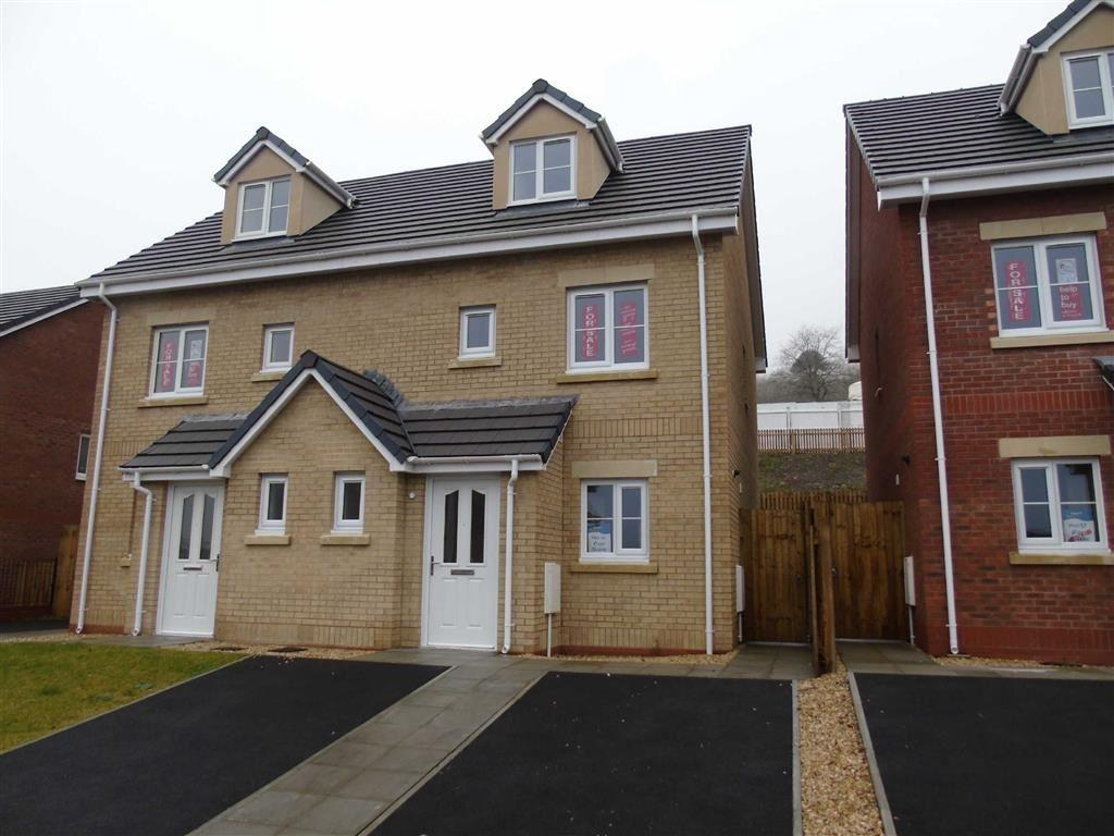 3 Bedrooms Semi Detached House for sale in Clos Y Cwm, Pontardawe, Swansea, Swansea
