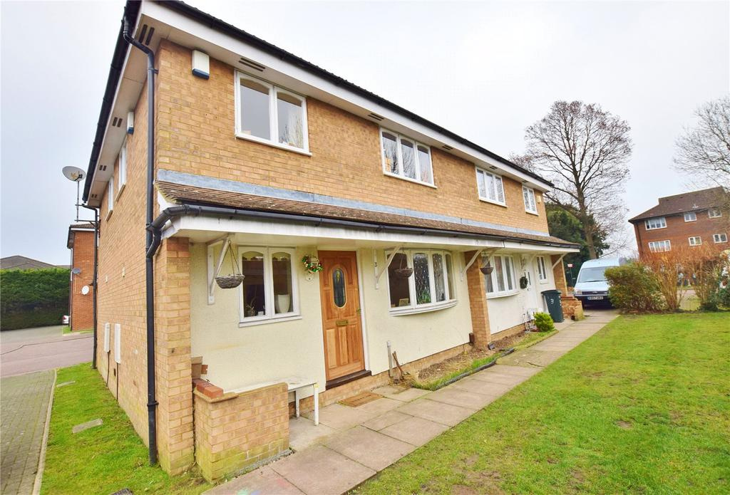 2 Bedrooms End Of Terrace House for sale in Turnberry Court, Watford, South Oxhey, Hertfordshire, WD19