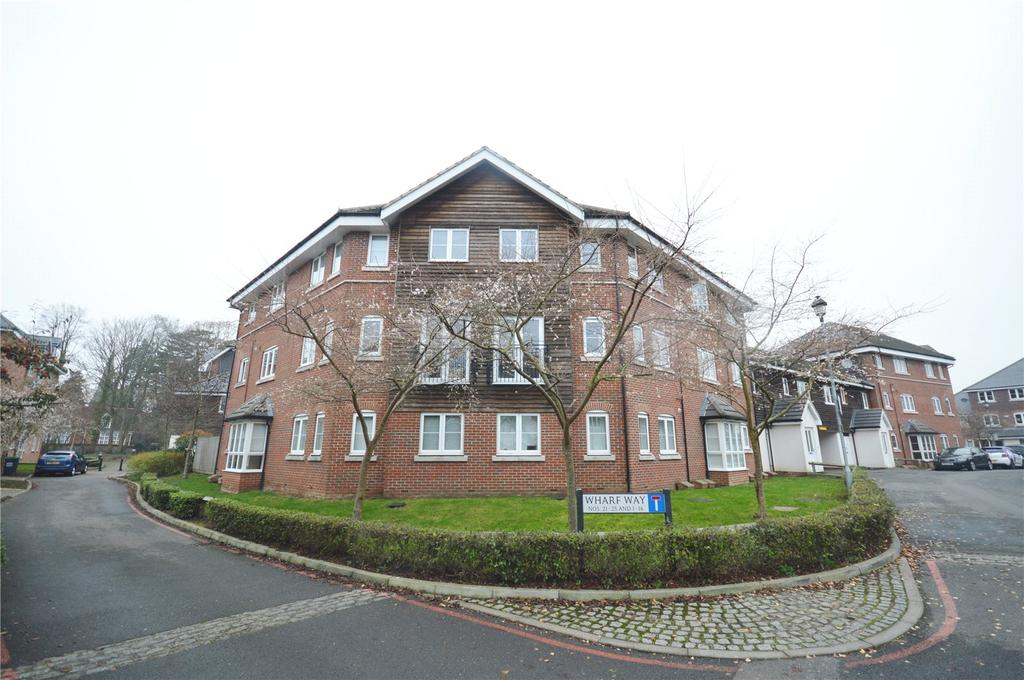 2 Bedrooms Apartment Flat for sale in Wharf Way, Hunton Bridge, Kings Langley, Hertfordshire, WD4