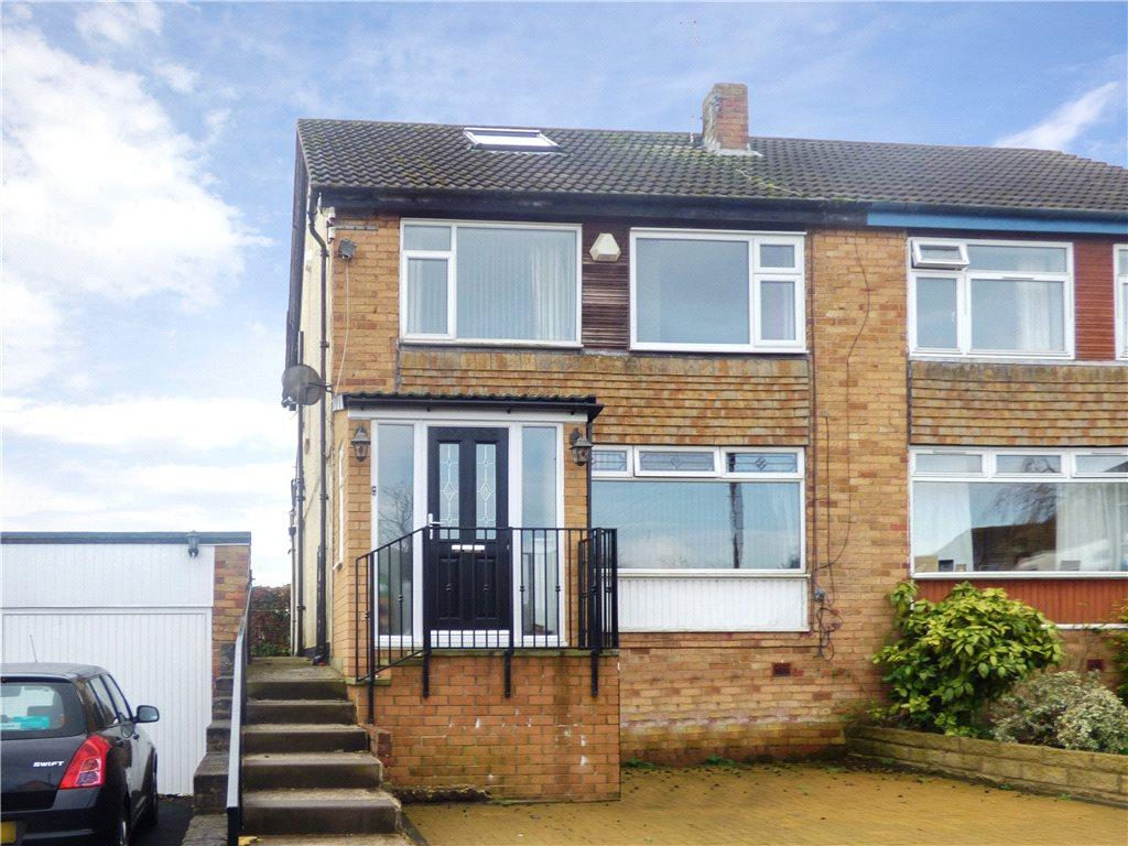 3 Bedrooms Semi Detached House for sale in Brantwood Drive, Bradford, West Yorkshire