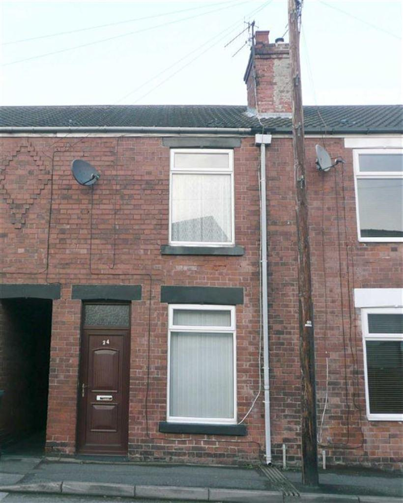 2 Bedrooms Terraced House for sale in Hardwick Street, Stonegravels, Chesterfield, Derbyshire, S41