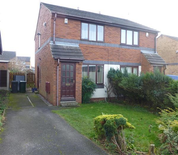 2 Bedrooms Semi Detached House for sale in Broad Bridge Close, Kiveton Park, Sheffield
