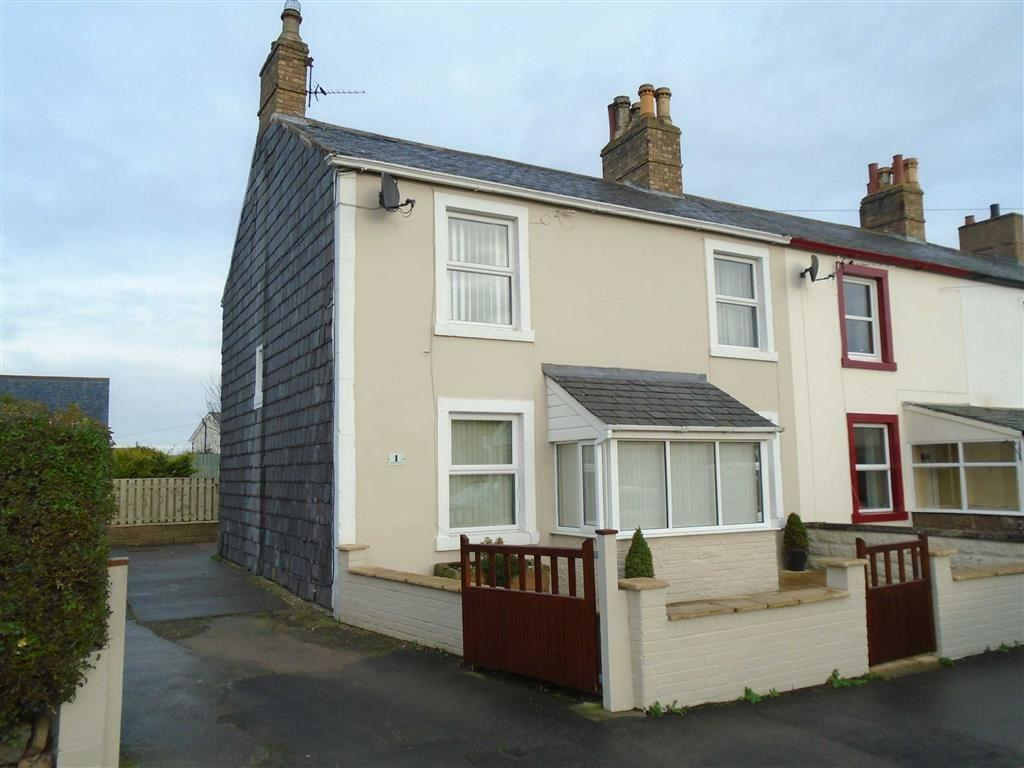 3 Bedrooms End Of Terrace House for sale in South View Terrace, Station Hill, Wigton, Cumbria