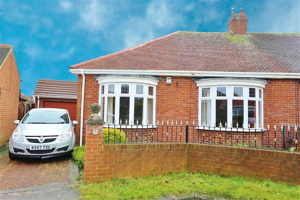 2 Bedrooms Semi Detached Bungalow for sale in Westfield Court, High Barnes, Sunderland, SR4