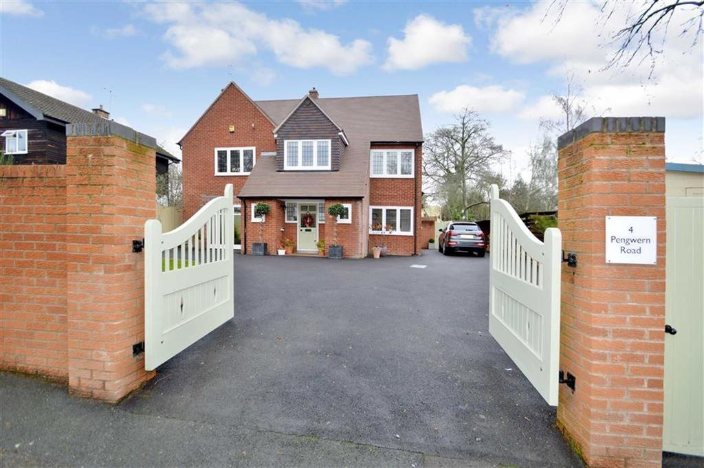 3 Bedrooms Detached House for sale in 4, Pengwern Road, Shrewsbury, SY3