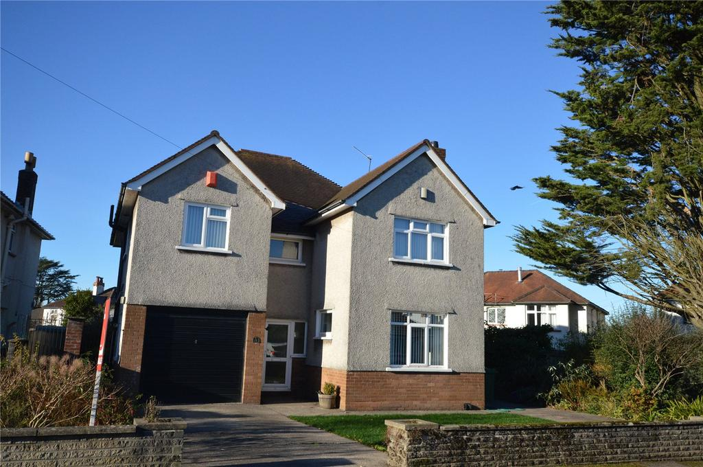 4 Bedrooms Detached House for sale in Bryngwyn Road, Cyncoed, Cardiff, CF23