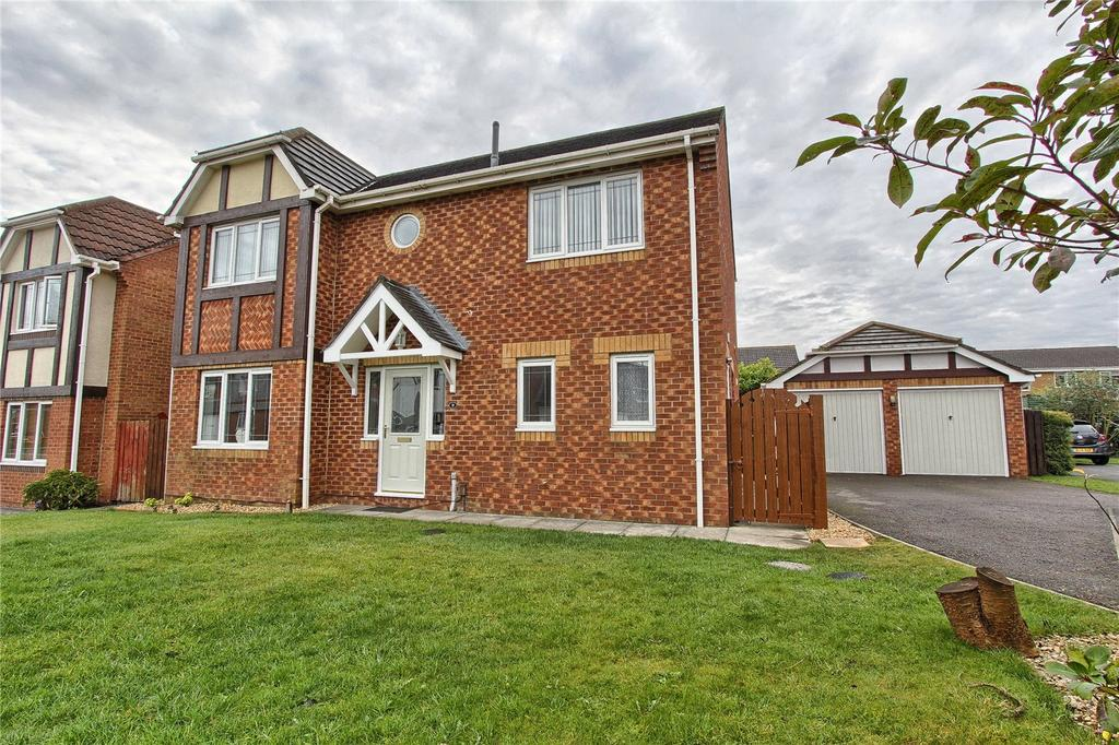 4 Bedrooms Detached House for sale in Constable Grove, Wolviston Grange