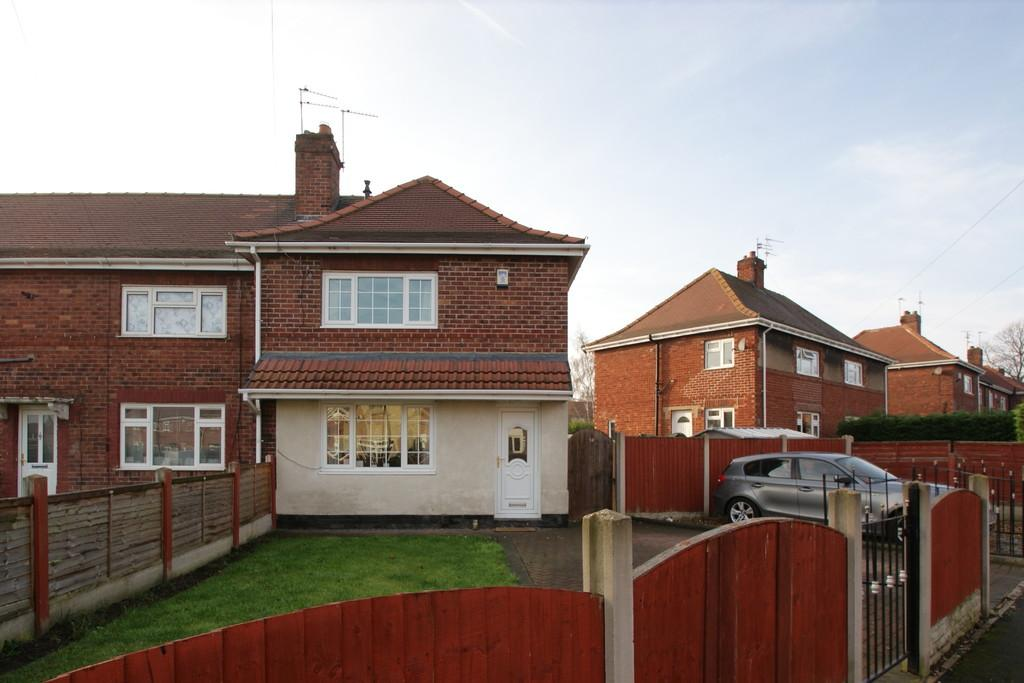 3 Bedrooms End Of Terrace House for sale in 14 Surrey Street, Balby, Doncaster, DN4 8JA