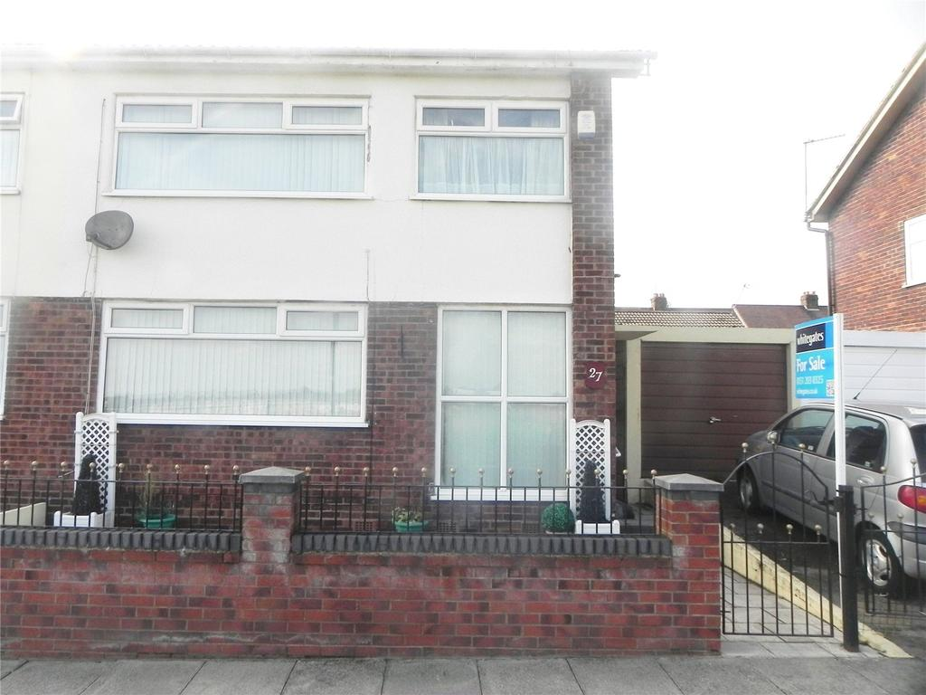 3 Bedrooms Semi Detached House for sale in Marion Road, Bootle, Merseyside, L20