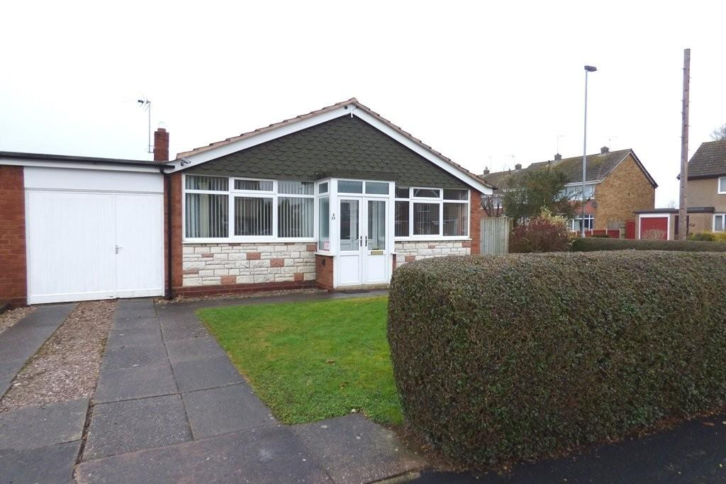 2 Bedrooms Semi Detached Bungalow for sale in Burford Road, Stafford