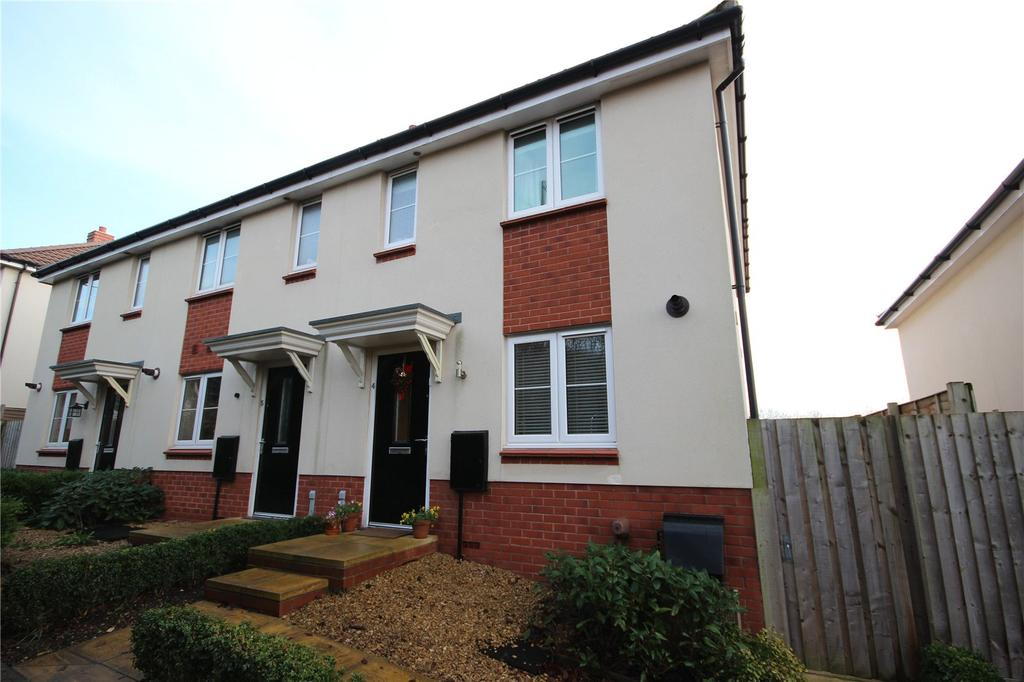 2 Bedrooms End Of Terrace House for sale in Valerian Close, Shirehampton, Bristol, BS11