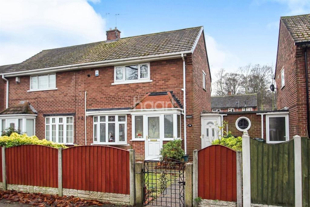 2 Bedrooms Semi Detached House for sale in Willow Avenue, Cantley