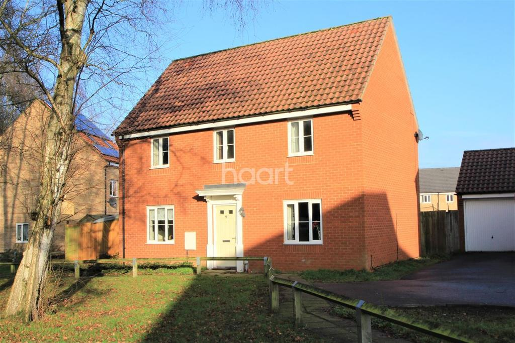 4 Bedrooms Detached House for sale in Fortress Road, Carbrooke