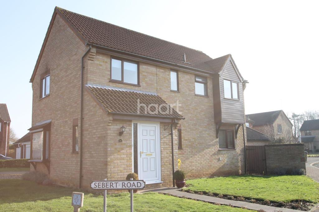4 Bedrooms Detached House for sale in Sebert Road, Bury St Edmunds, Suffolk