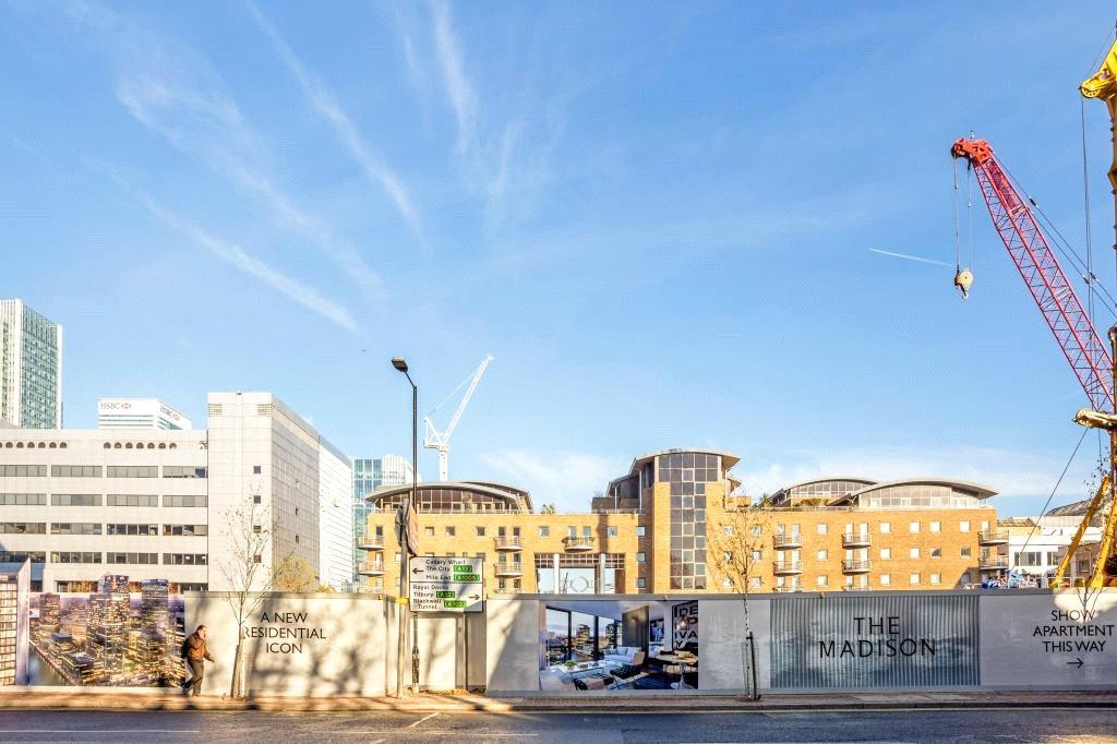 2 Bedrooms Flat for sale in The Madison, 199-207 Marsh Wall, Canary Wharf, London, E14