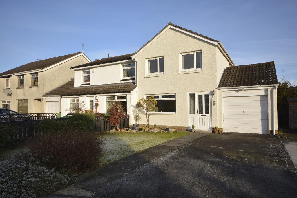 3 Bedrooms Semi Detached House for sale in Seton Drive, Broomridge, Stirling, FK7 7RL
