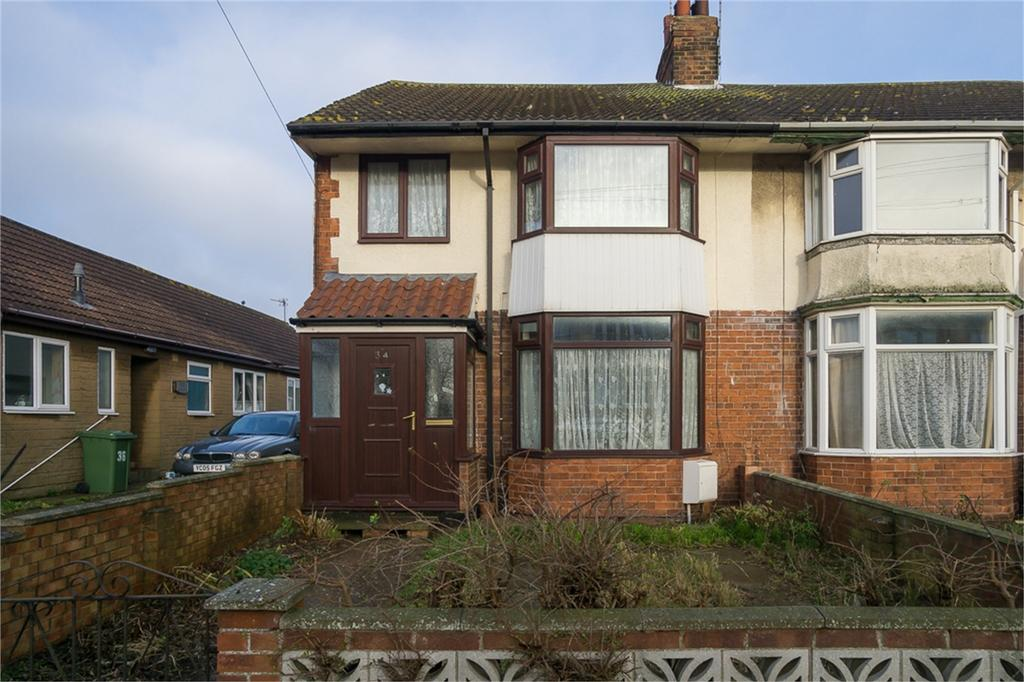 3 Bedrooms End Of Terrace House for sale in Chestnut Avenue, Withernsea, East Riding of Yorkshire
