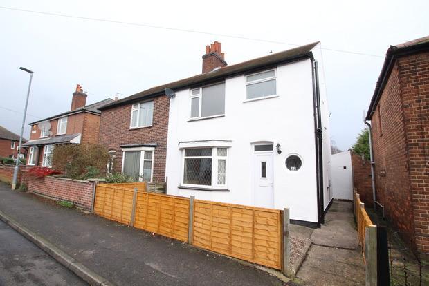 3 Bedrooms Semi Detached House for sale in Belvoir Street, Melton Mowbray, LE13