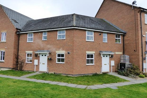 2 Bedrooms Maisonette Flat for sale in Gladiator Close, Wootton, Northampton, NN4